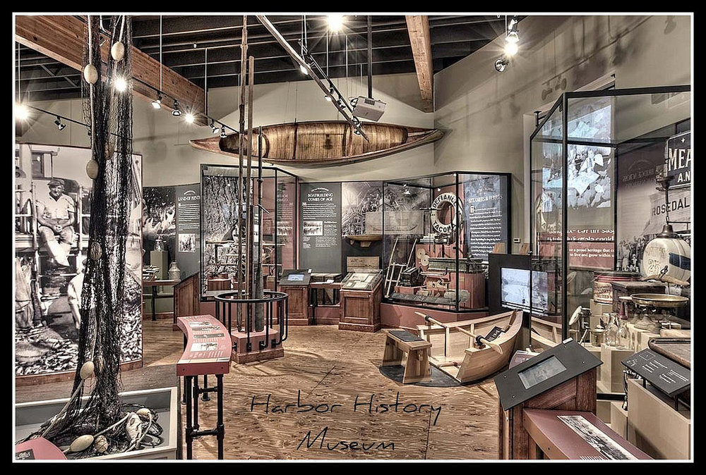 The Harbor History Museum in Gig Harbor captures the city's commercial fishing past. (Photo: Michael& Sherry Martin via  Flickr. )