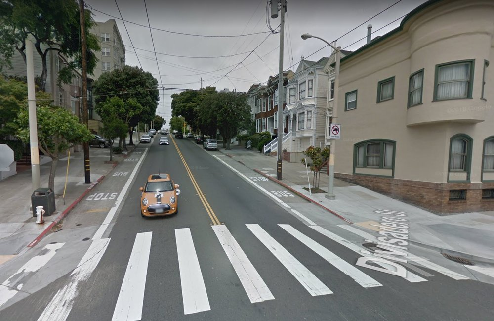 Part of the featured section of Divisadero (Image: Google)