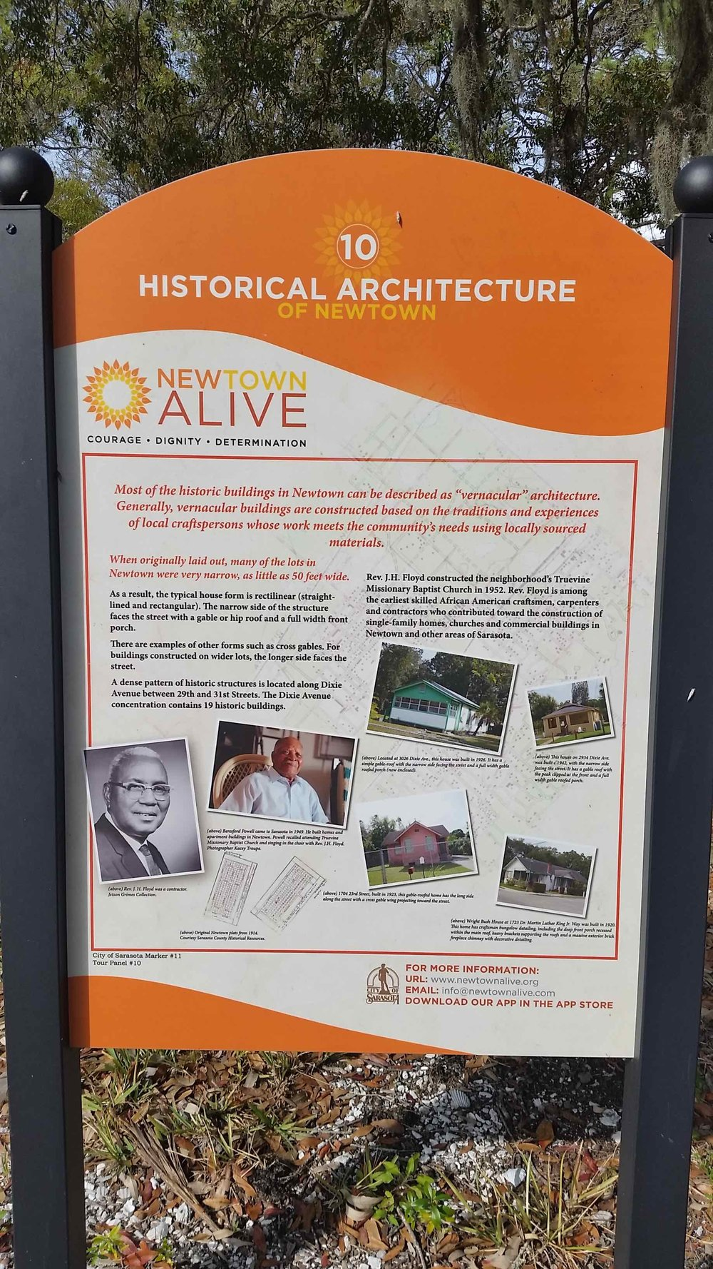 A recent city grant  funded an effort  to preserve much of the neighborhood's oral history and create a walking tour with interpretive signs.