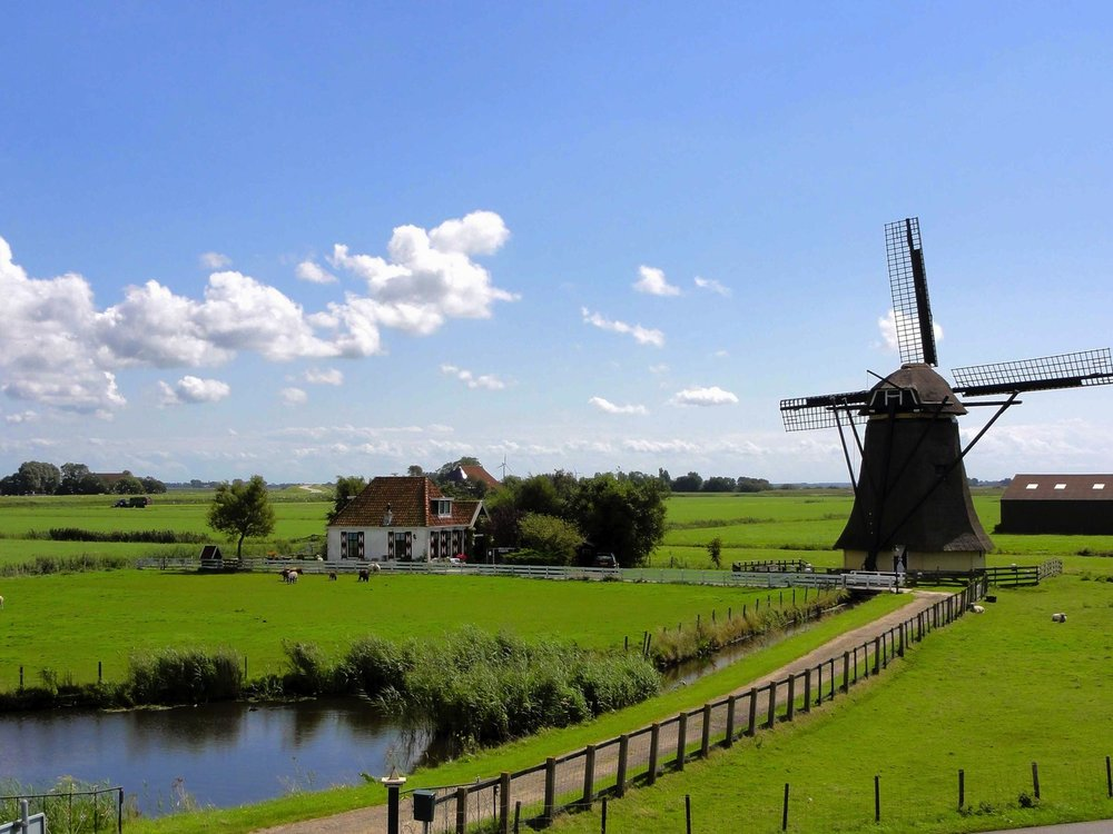 Rural Netherlands. Image: pxhere. Creative Commons license.