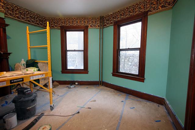 Restoring a historic house (via  Flickr )
