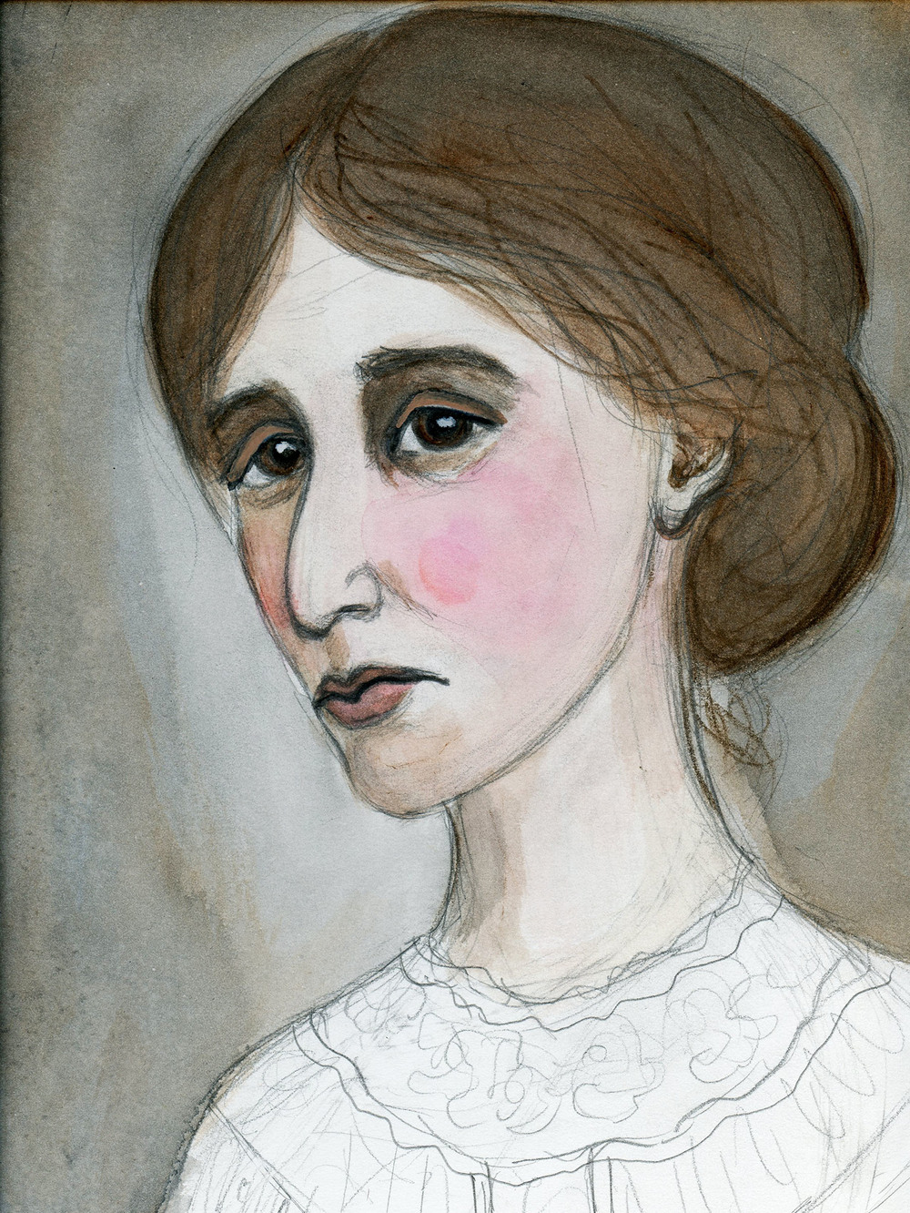The Sad Eyes of Virginia Woolf