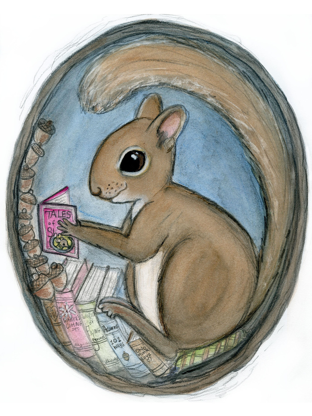 Sherman Squirrel Reads a Tale