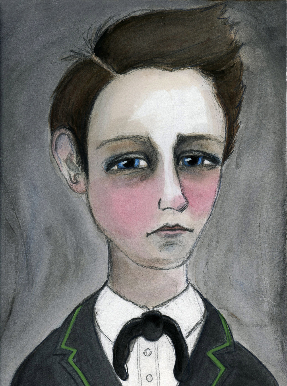Arthur Rimbaud Art Print
