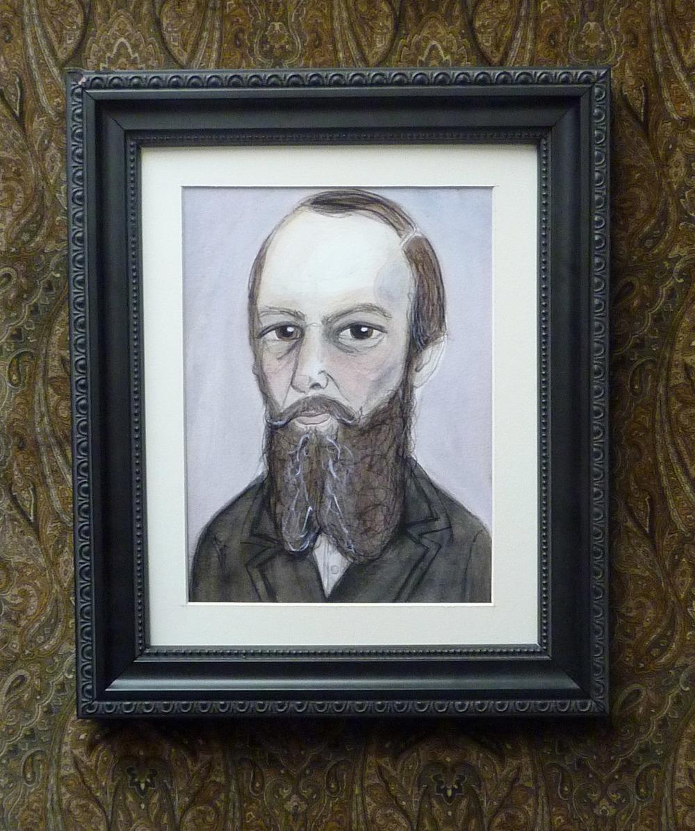 Fyodor Dostoyevsky Framed Art Print