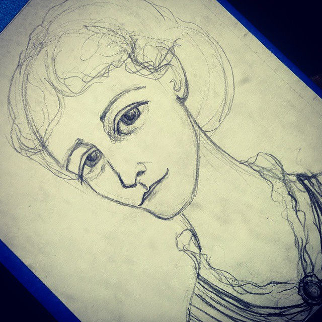 Edith Wharton Sketch