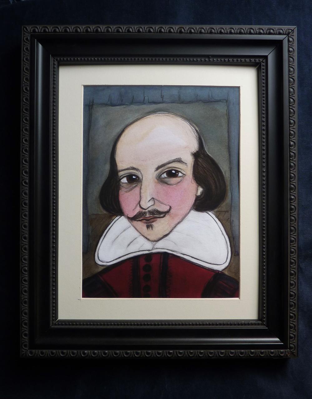 William Shakespeare Literary Portrait