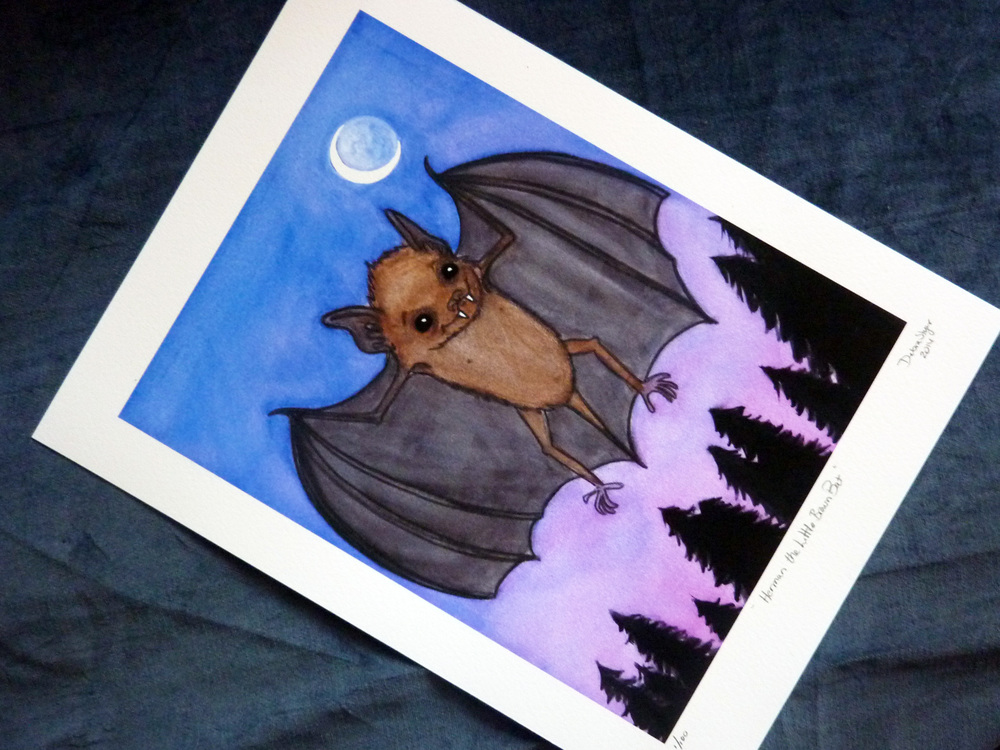 Herman The brown bat