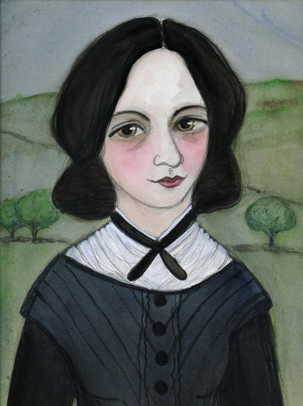 Emily Bronte Literary Portrait