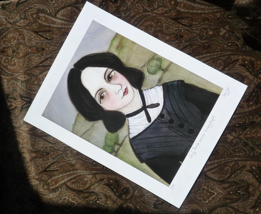 Emily Bronte Unframed