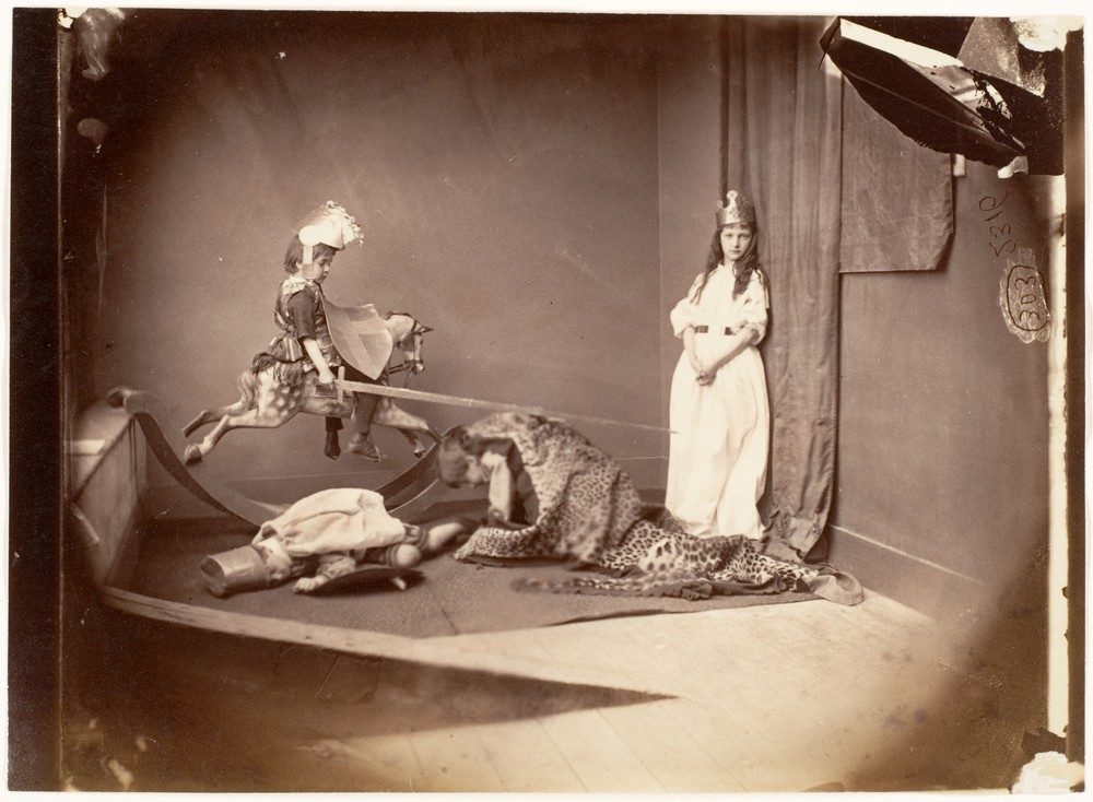 Lewis Carroll, St. George and the Dragon, 1875