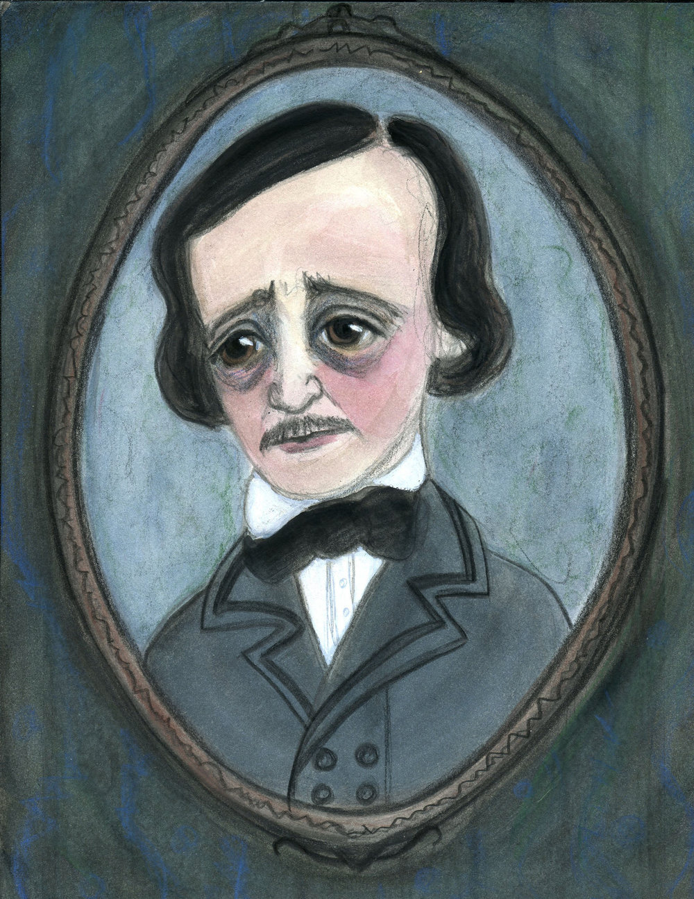 Portrait of Poe (the narrator)