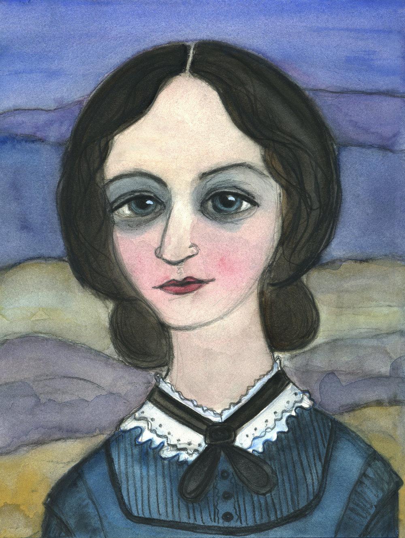 Charlotte Bronte Literary Portrait
