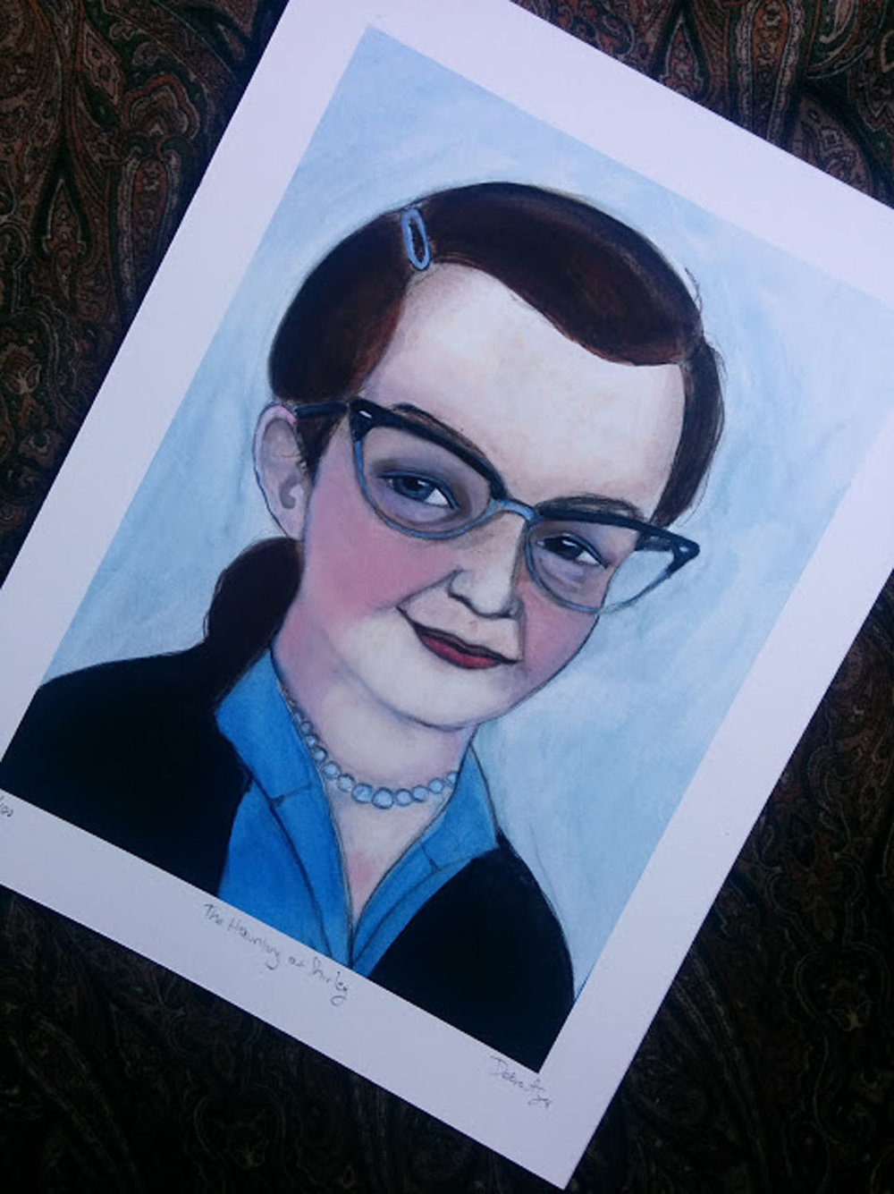 Shirley Jackson Illustration