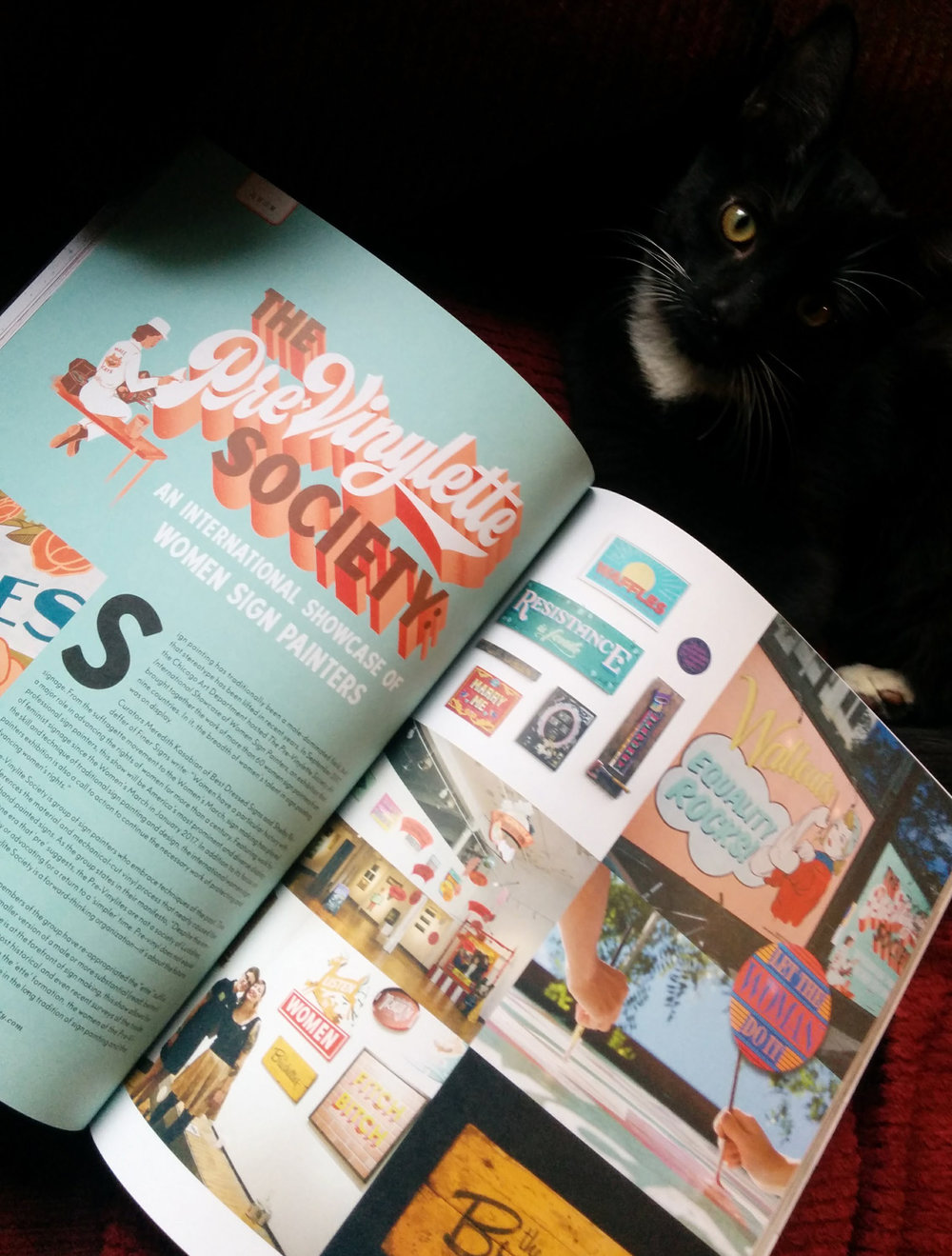 The Pre-Vinylette Society in Uppercase Magazine (Issue 36)