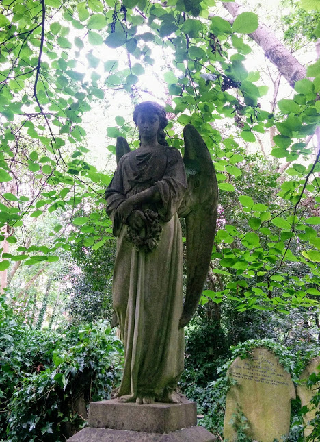 My favorite Angel monument at Highgate