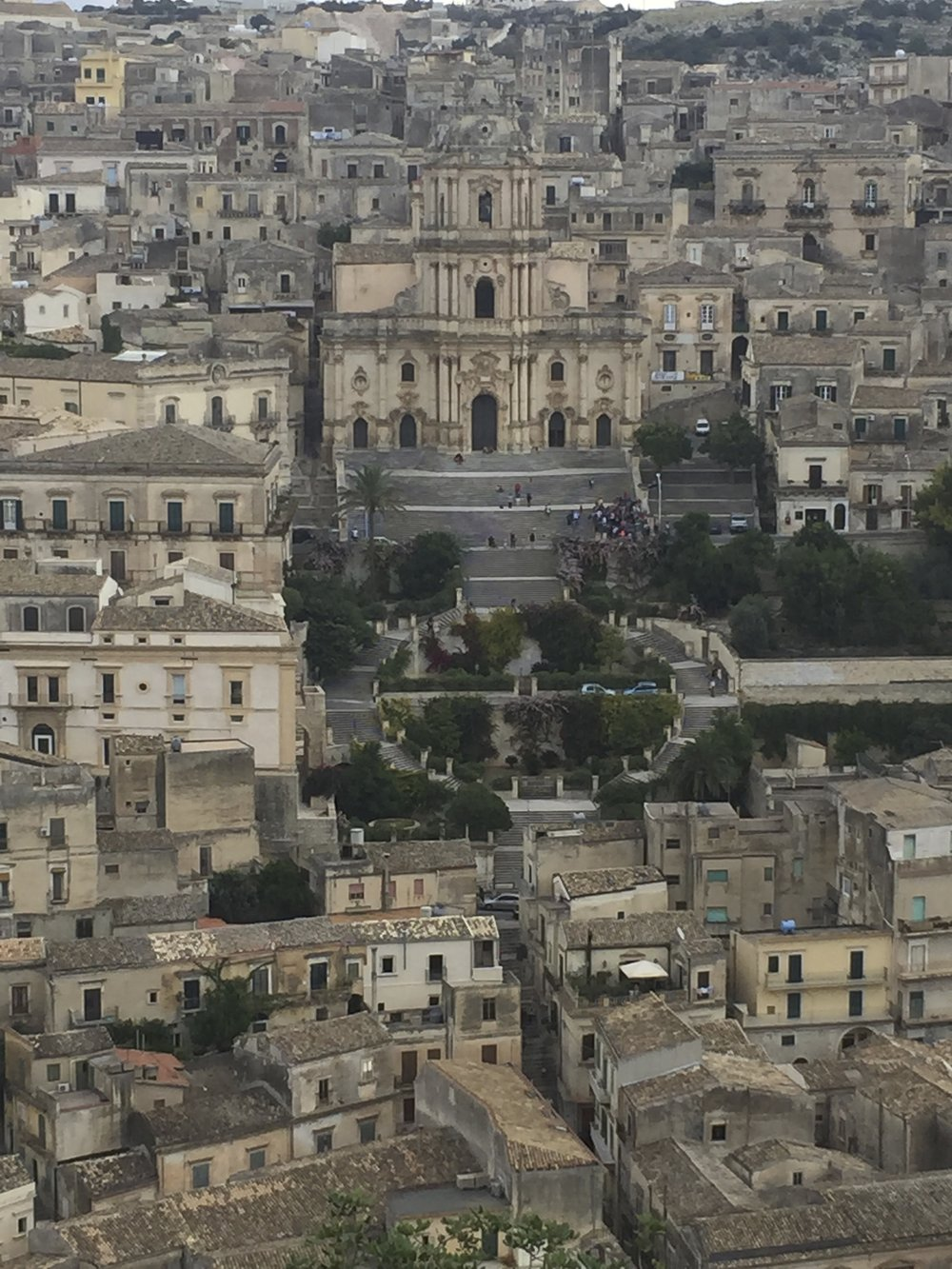 Modica in the Val di Noto