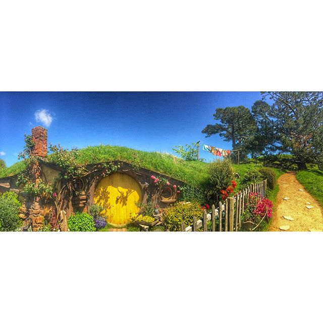Hobbit life is the good life 🌼🌼🌼