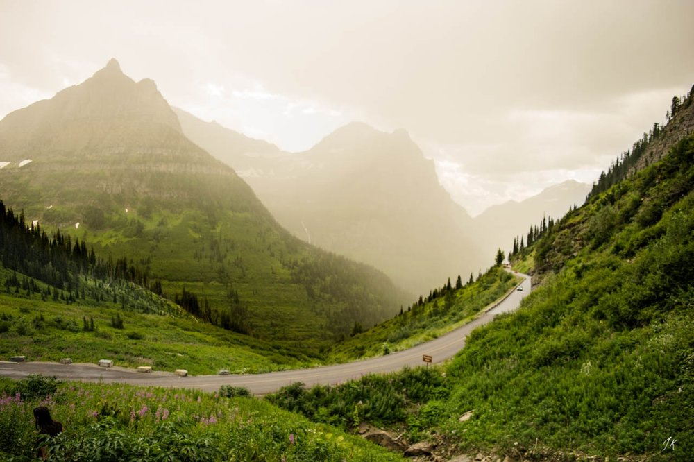 Going-to-the-Sun Road in Glacier National Park. Photo by Jacqueline Kehoe