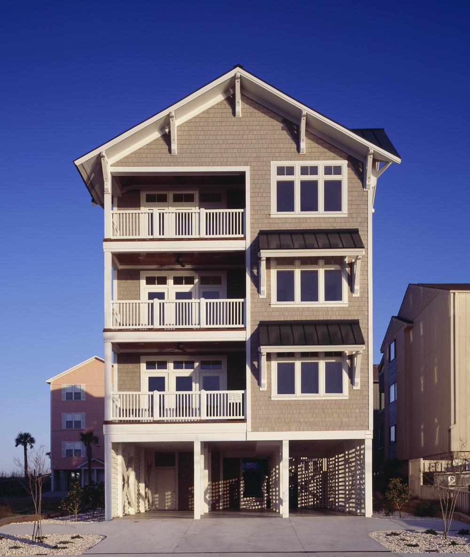 608 Carolina Beach Avenue  Carolina Beach, NC  Completed as Project Architect for John Sawyer Architects