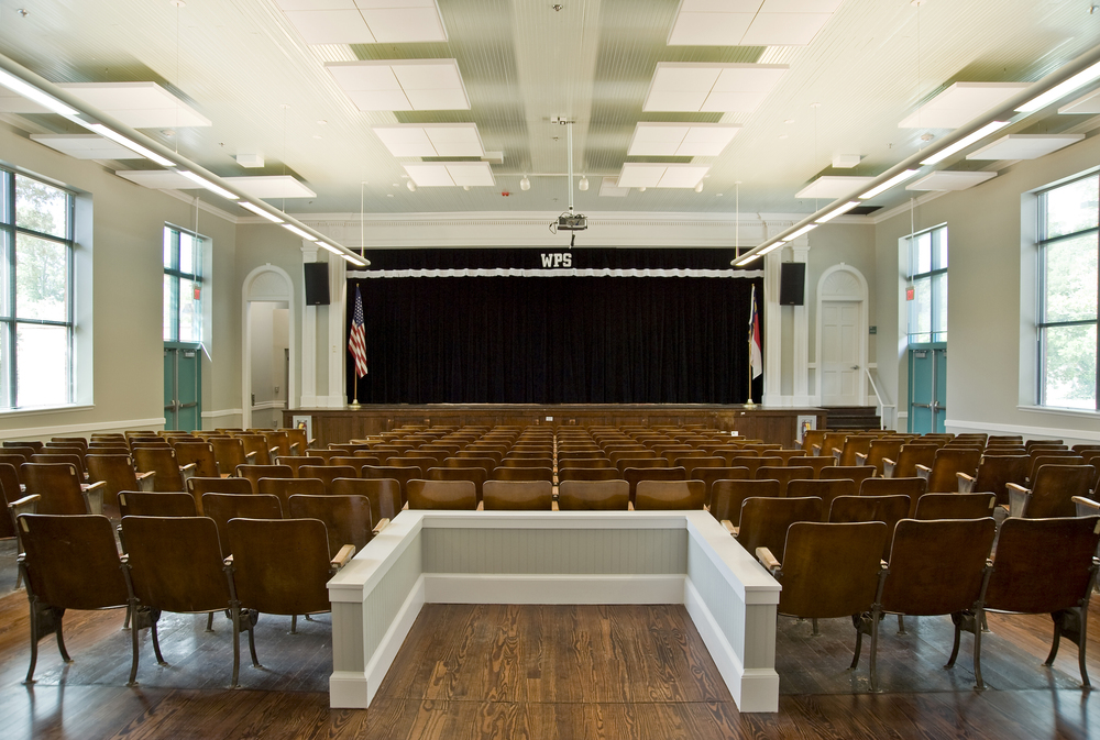 Winter Park Elementary School Renovation  204 N MacMillan Avenue  Wilmington, NC  Completed as Project Architect for John Sawyer Architects