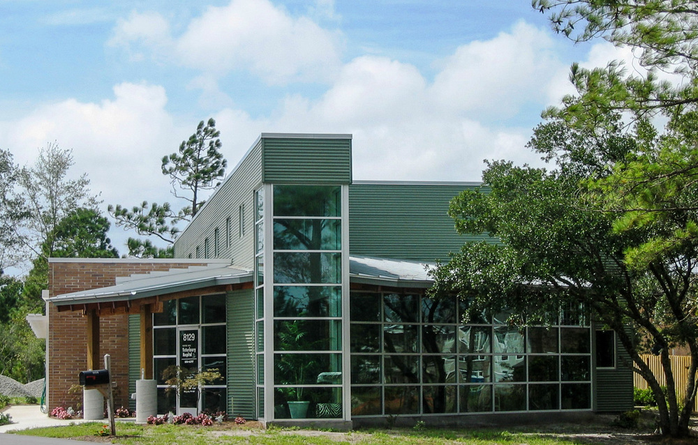 Porters Neck Veterinary Hospital  8129 Market Street  Wilmington, NC  Completed as Project Architect for John Sawyer Architects