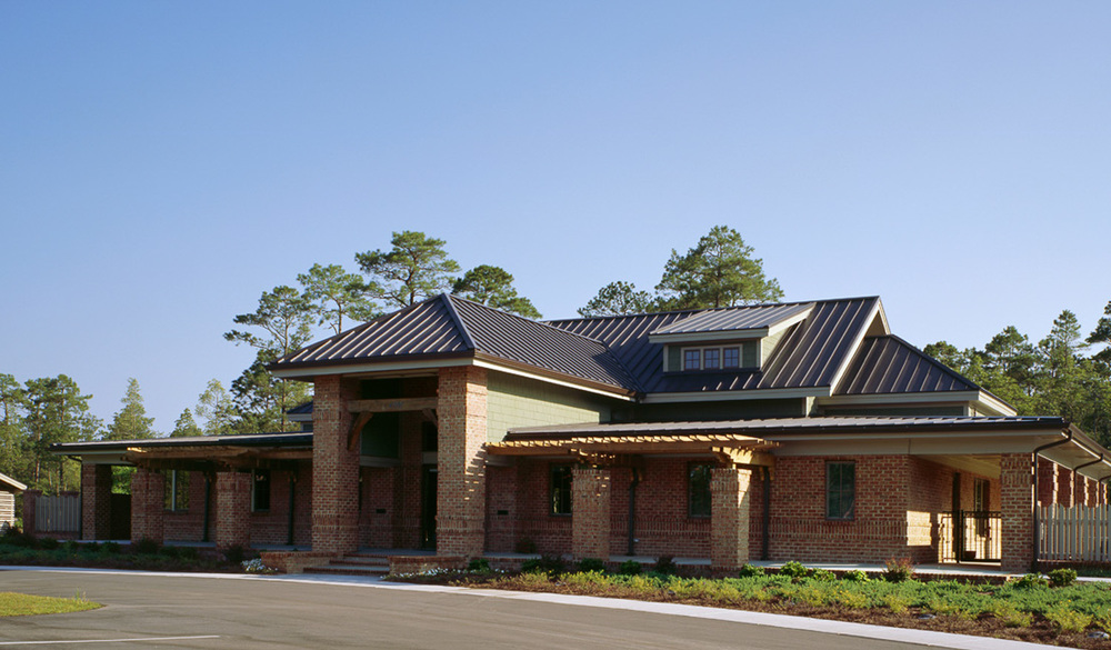 Rourk Woods Community Center  Shallotte, NC  Completed as Project Architect for John Sawyer Architects