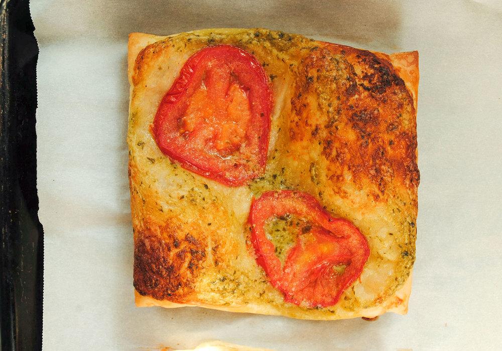 Tomato-Basil Pizza, Two Ways Recipes — Dishmaps