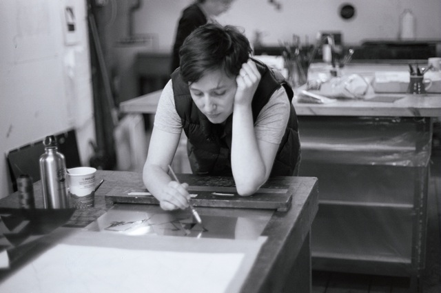 Meghan Brady at Wingate Studio, 2010
