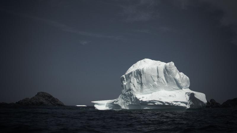 An iceberg off Twillingate, Newfoundland. (Photo: Tyson Sadler)