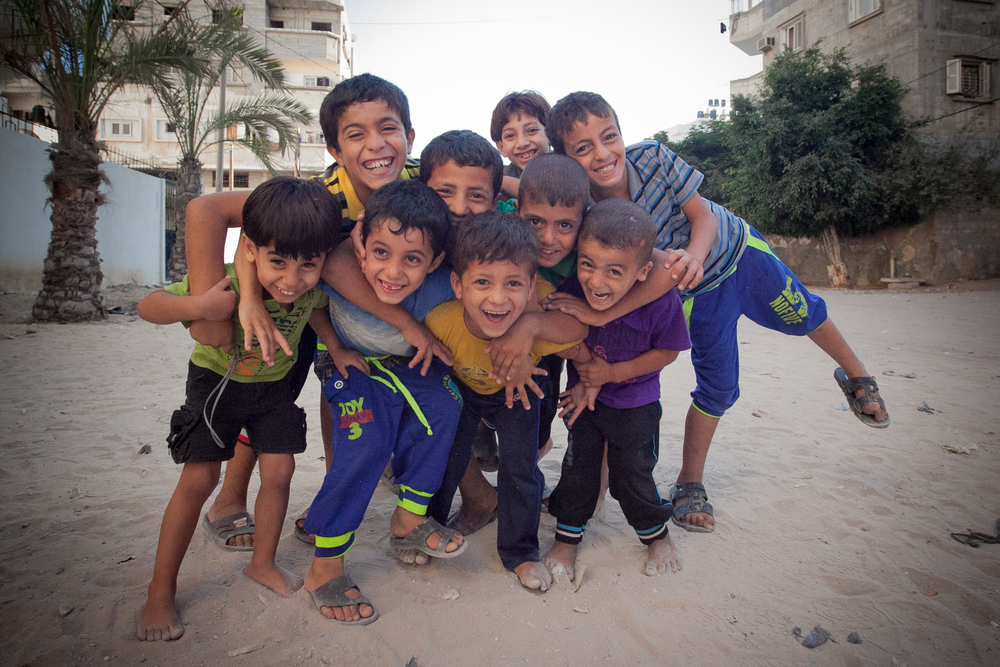 In Gaza, children who are just six years old have been through three   extraordinarily terrifying and traumatizing   wars. The UNRWA estimates that there are about 400,000 children deep in trauma. (Tyson Sadler)