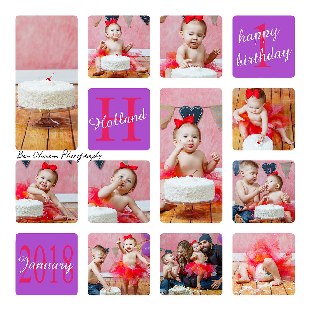 Denham One Year Session-Cake Collage.jpg
