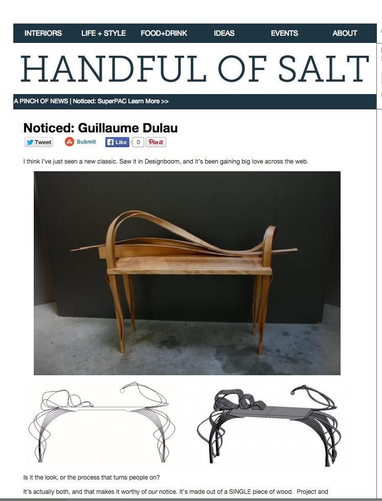 Handful of Salt - Guillaume Dulau