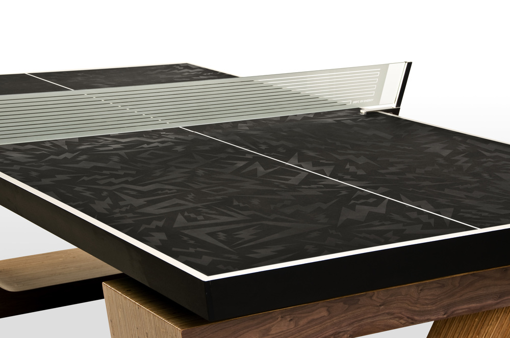 Custom Ping Pong Table Bryce Anderson - Designer ping pong table