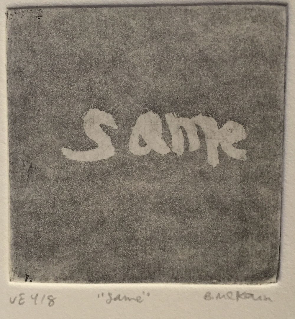 BRIANNE MCKAIN same (4/8) aquatint