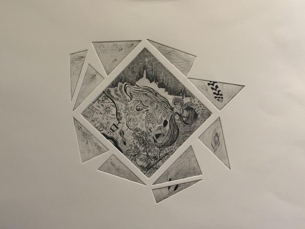 YAMATA BERNARD Roba etching