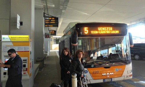 ACTV Bus #5 to Venice