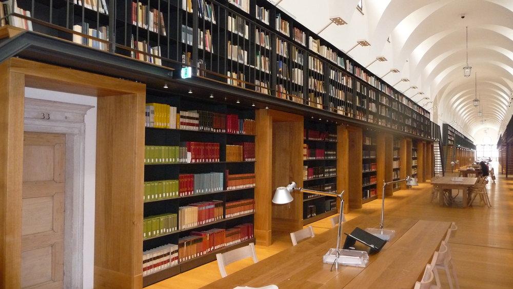 Biblioteca di Fondazione Giorgio Cini, the new section in the Manica Lunga of the Monastery