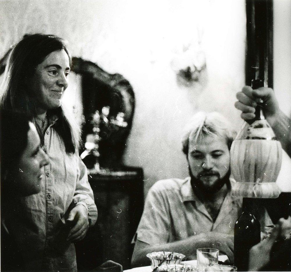 Diana Gisolfi at Pensione Seguso, 1982