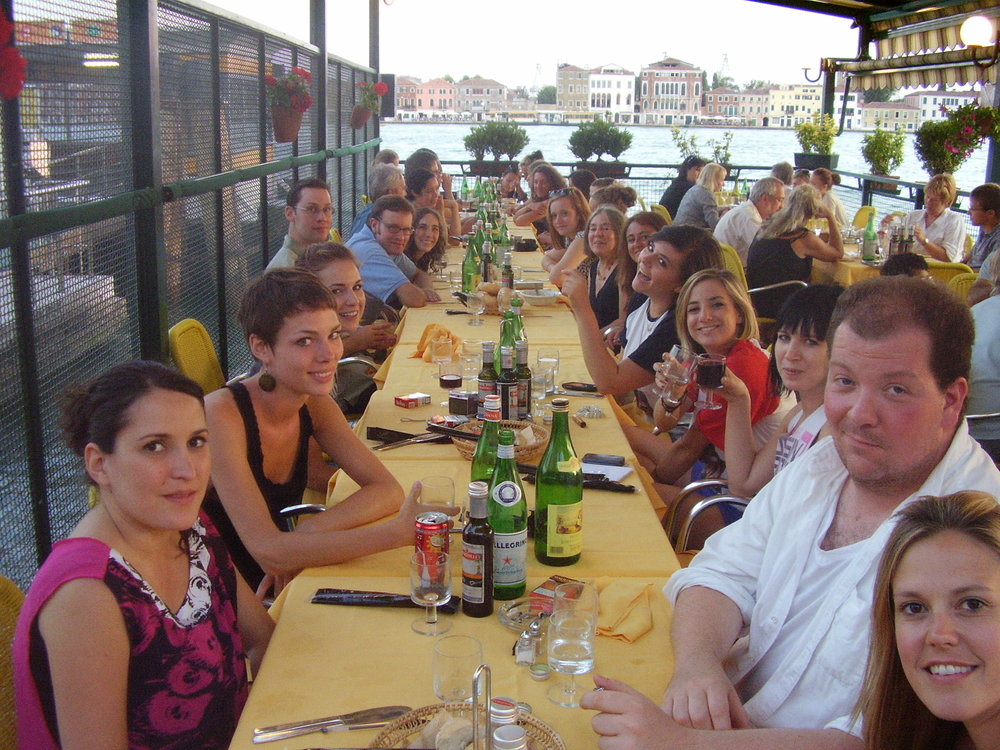 Venice Last supper whole gang.JPG