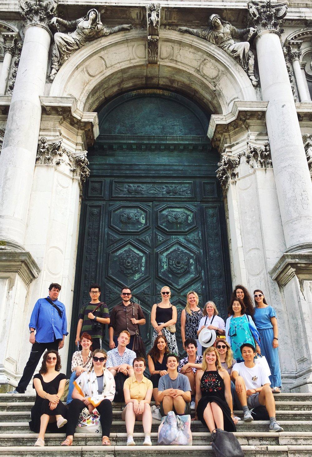 Class trip to Venice's Santa Maria della Salute