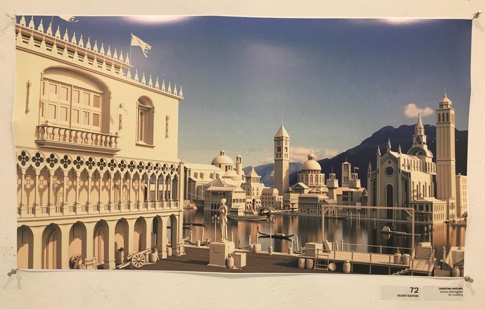 """Christian Harding, """"Venice: Reimagined"""" (3D modeling)"""