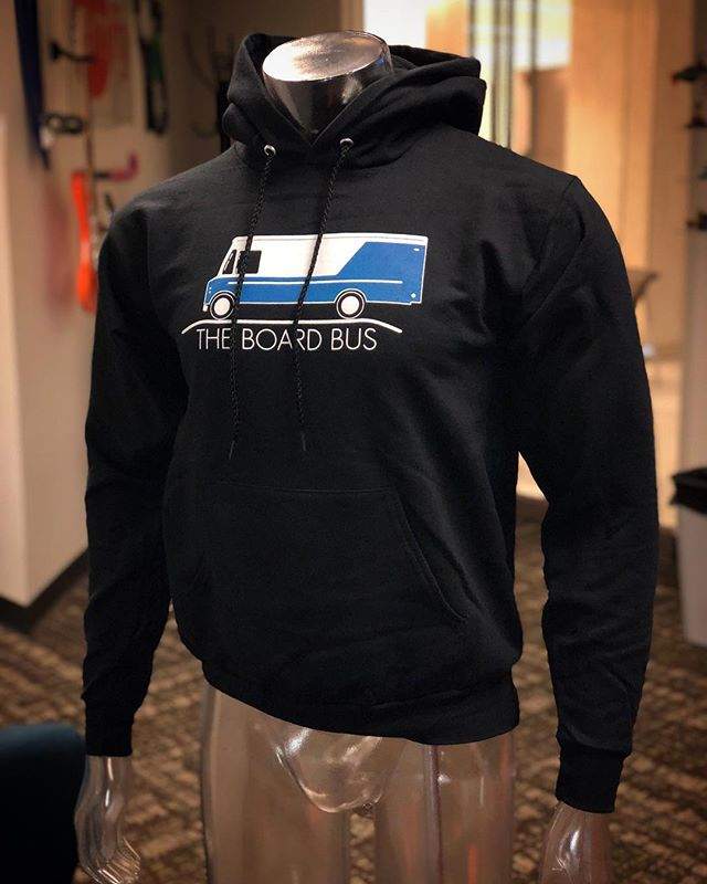 Grab a sweatshirt and rep the DMV's mobile skateshop, The Board Bus.  Fleece-lined with 50% cotton, 50% polyester. Perfect for fall & winter, in the office or at home. Grab one now by simply clicking on the photo. Only $35 online.