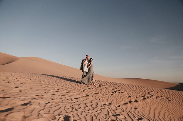 love in the dunes | tyler & kate fun fact: we got stopped by border patrol on our way back from taking these. good times.