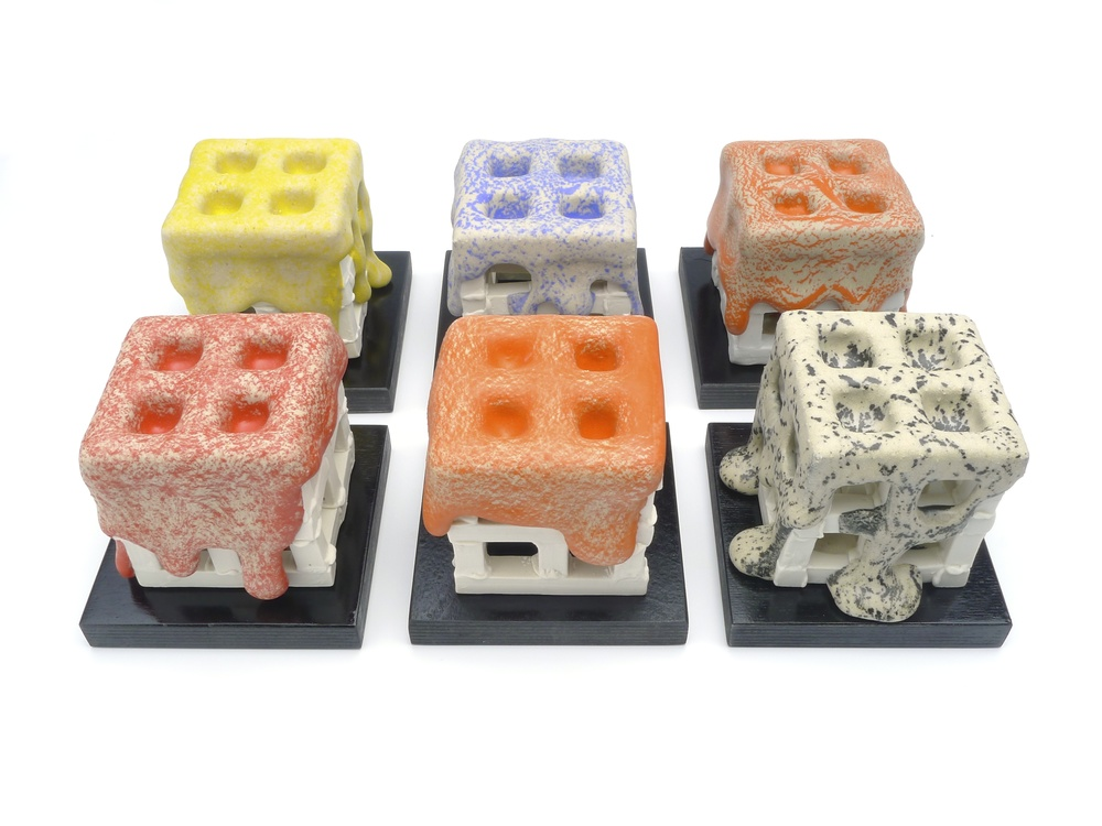 Six Small Cubes