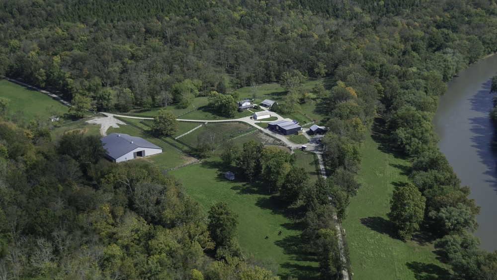 Aerial View of StoneRidge Stables