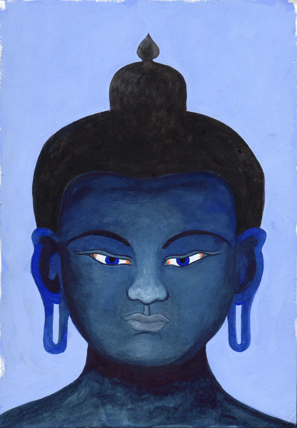 Medicine Buddha King Of Lapis Lazuli Light
