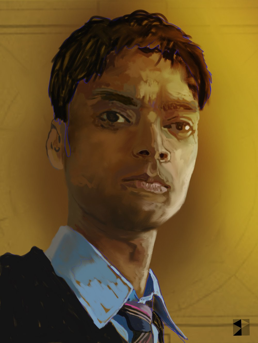 Dilip, Uttar Pradesh  FBSelfie, ProCreate, Pencil 53, Photoshop, iPad, Desktop Digital Image Dimensions Variable © SP/MWW.2015