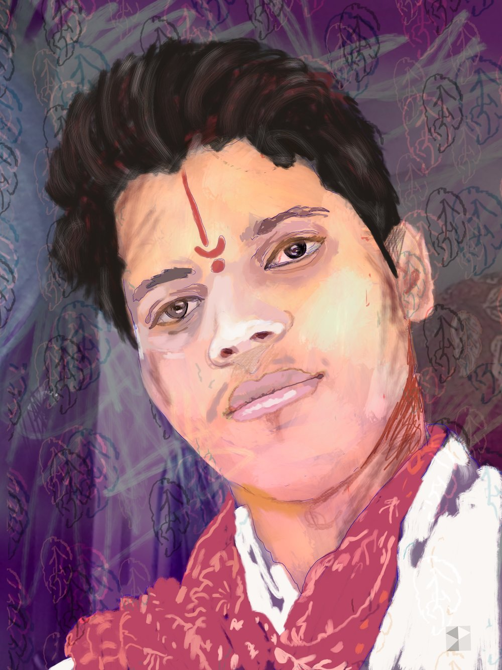 Rajasthan    FBSelfie, ProCreate, Apple Pencil, Photoshop, iPad, Desktop Digital Image Dimensions Variable © SP.2017