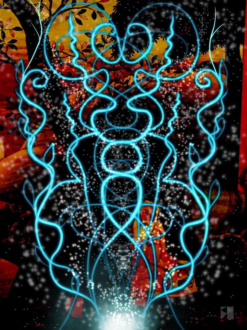 Sadhu   Electronics Paintings  Maya 2019 SP  dimensions variable